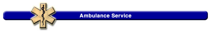 Ambulance Service Title Bar