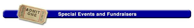 Special Events and Fundraisers Title Bar